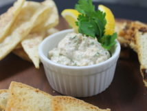 Smoked salmon & cream cheese dip
