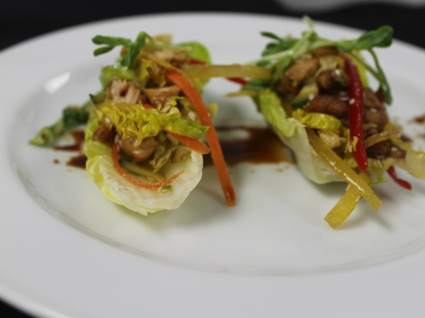Teriyaki salad cups 1