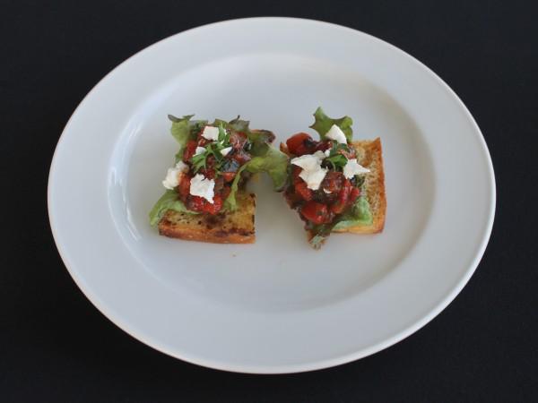 2 Balsamic marinated mediteranean veg bruschetta 2